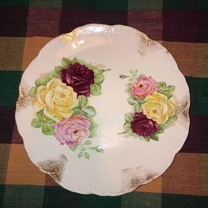 Semi Vitnaque Porcelain decorative plate